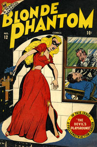 Cover Thumbnail for Blonde Phantom Comics (Marvel, 1946 series) #12