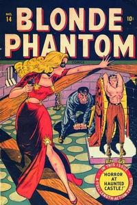 Cover Thumbnail for Blonde Phantom Comics (Marvel, 1946 series) #14