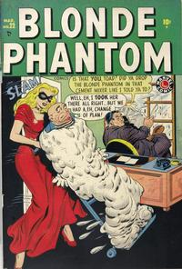 Cover Thumbnail for Blonde Phantom Comics (Marvel, 1946 series) #22