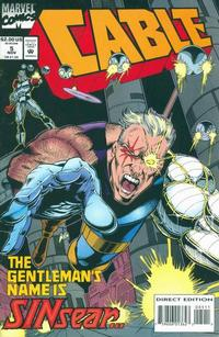 Cover Thumbnail for Cable (Marvel, 1993 series) #5 [Direct Edition]