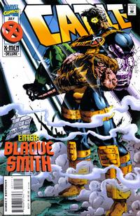 Cover Thumbnail for Cable (Marvel, 1993 series) #21 [Deluxe Direct Edition]