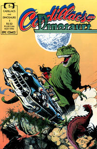 Cover for Cadillacs and Dinosaurs (1990 series) #1