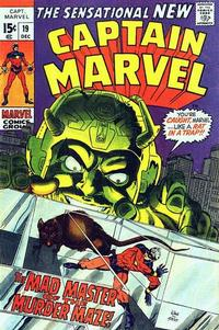 Cover Thumbnail for Captain Marvel (Marvel, 1968 series) #19 [Regular Edition]