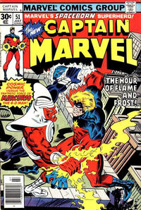 Cover Thumbnail for Captain Marvel (Marvel, 1968 series) #51 [30¢ Cover Price]