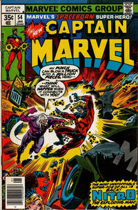 Cover for Captain Marvel (Marvel, 1968 series) #54