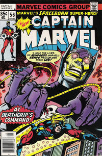 Cover for Captain Marvel (1968 series) #56