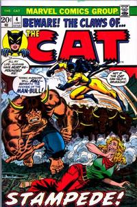 Cover for The Cat (Marvel, 1972 series) #4