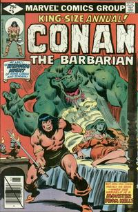 Cover Thumbnail for Conan Annual (Marvel, 1973 series) #5 [Direct Edition]