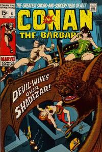 Cover Thumbnail for Conan the Barbarian (Marvel, 1970 series) #6