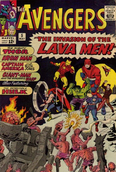 Cover for The Avengers (Marvel, 1963 series) #5 [Regular Edition]