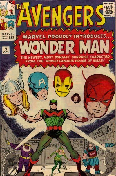 Cover for The Avengers (1963 series) #9