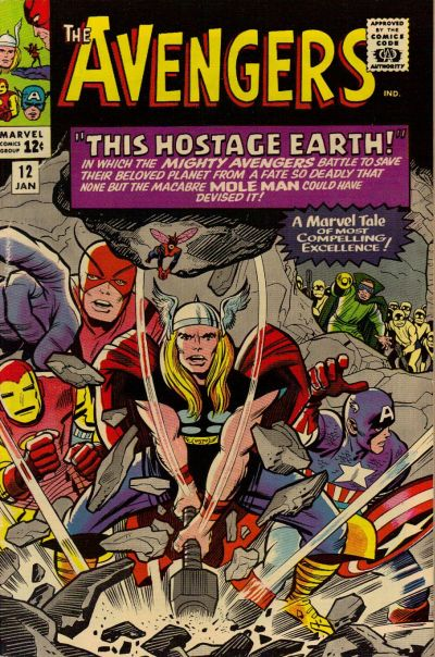 Cover for The Avengers (Marvel, 1963 series) #12
