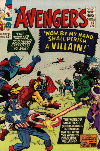 Cover for The Avengers (1963 series) #15