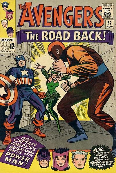 Cover for The Avengers (1963 series) #22
