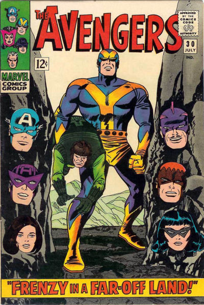 Cover for The Avengers (1963 series) #30
