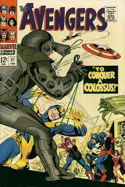 Cover for The Avengers (1963 series) #37