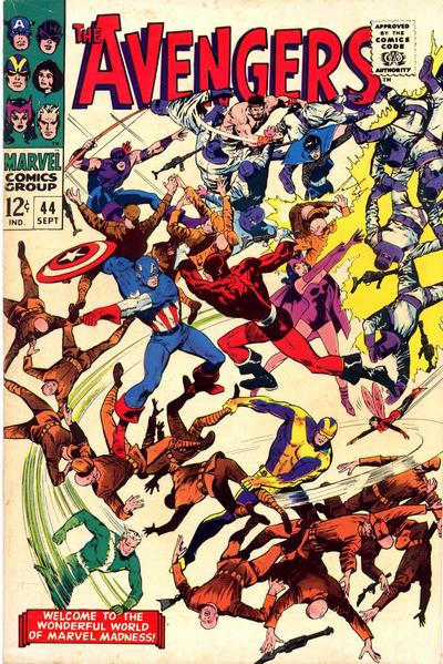 Cover for The Avengers (1963 series) #44