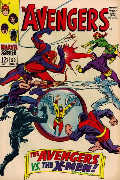 Cover for The Avengers (1963 series) #53