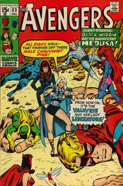 Cover for The Avengers (1963 series) #83