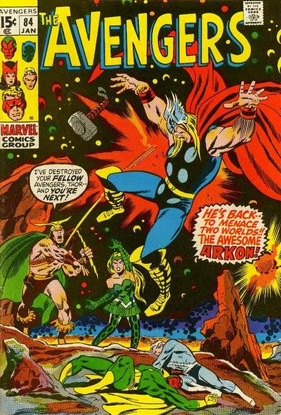 Cover for The Avengers (Marvel, 1963 series) #84 [Regular Edition]
