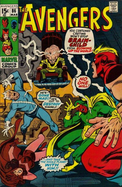 Cover for The Avengers (1963 series) #86