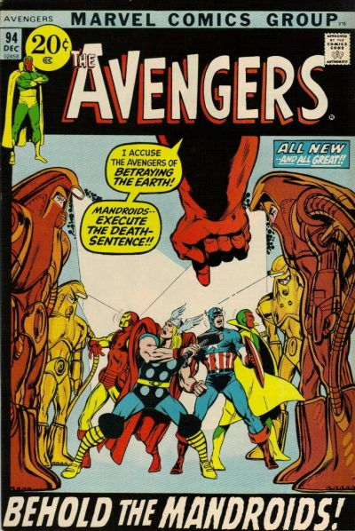 Cover for The Avengers (1963 series) #94