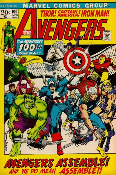 Cover for The Avengers (Marvel, 1963 series) #100