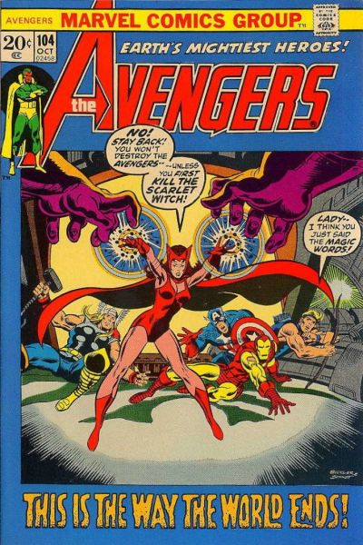 Cover for The Avengers (Marvel, 1963 series) #104 [Regular Edition]