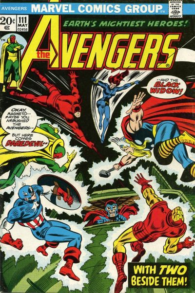 Cover for The Avengers (Marvel, 1963 series) #111 [Regular Edition]