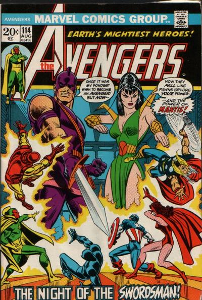 Cover for The Avengers (1963 series) #114