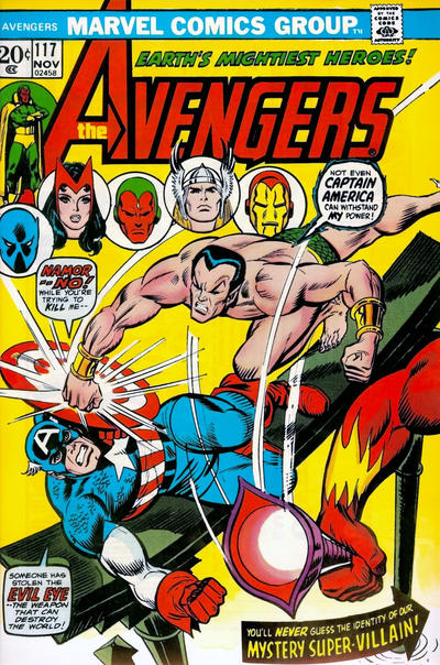 Cover for The Avengers (Marvel, 1963 series) #117 [Regular Edition]