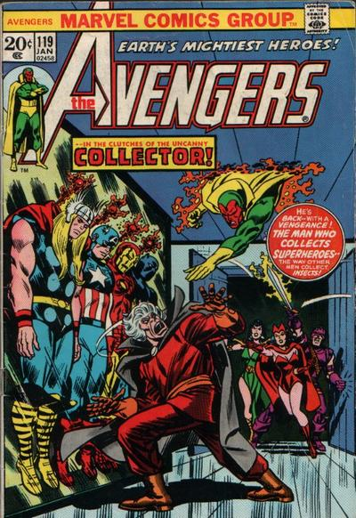 Cover for The Avengers (1963 series) #119