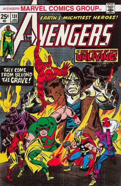 Cover for The Avengers (1963 series) #131