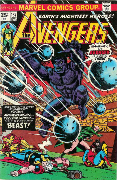 Cover for The Avengers (1963 series) #137