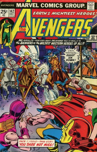 Cover for The Avengers (Marvel, 1963 series) #142 [Regular Edition]