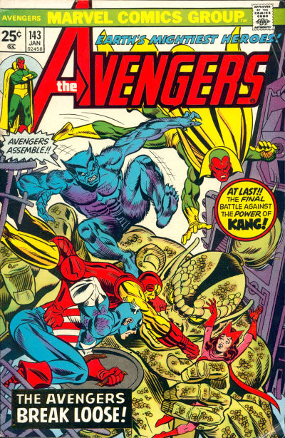 Cover for The Avengers (1963 series) #143