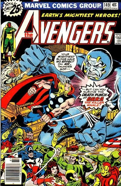 Cover for The Avengers (1963 series) #149