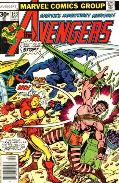 Cover for The Avengers (1963 series) #163 [30¢ Cover]
