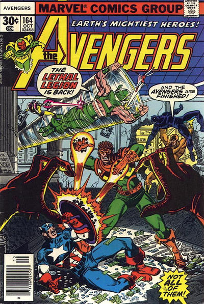 Cover for The Avengers (1963 series) #164 [30¢ Cover]