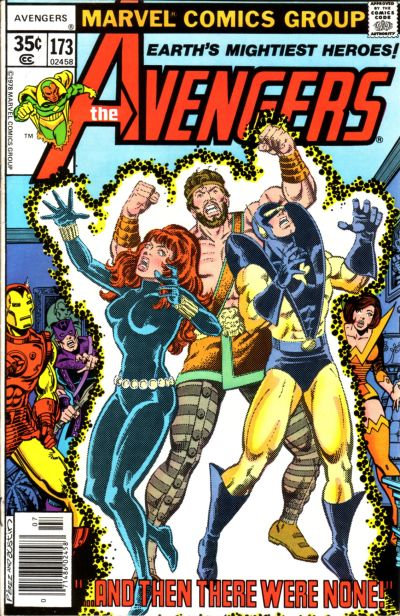 Cover for The Avengers (1963 series) #173