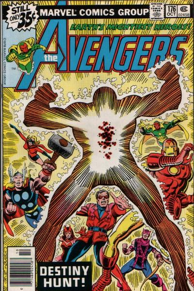 Cover for The Avengers (1963 series) #176