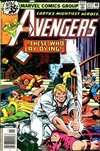 Cover for The Avengers (1963 series) #177