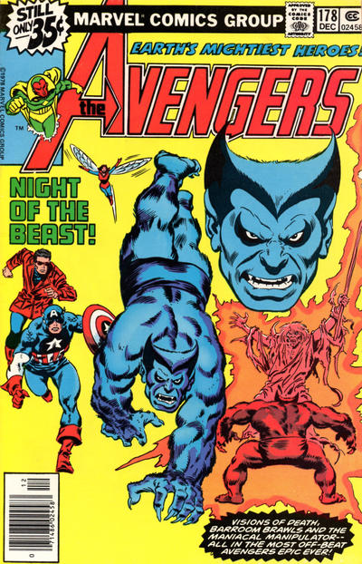 Cover for The Avengers (1963 series) #178