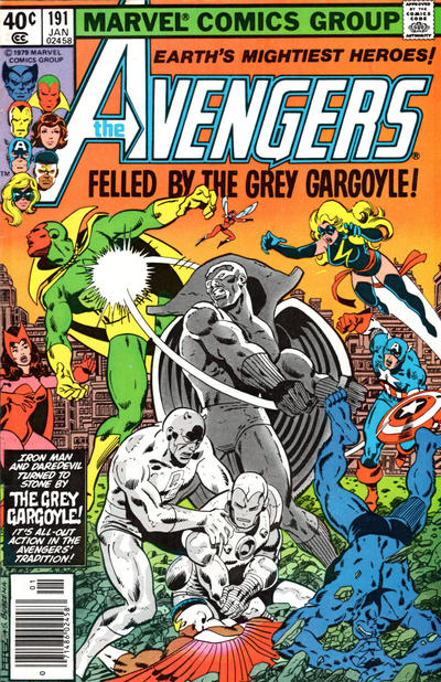 Cover for The Avengers (1963 series) #191 [Newsstand Edition]