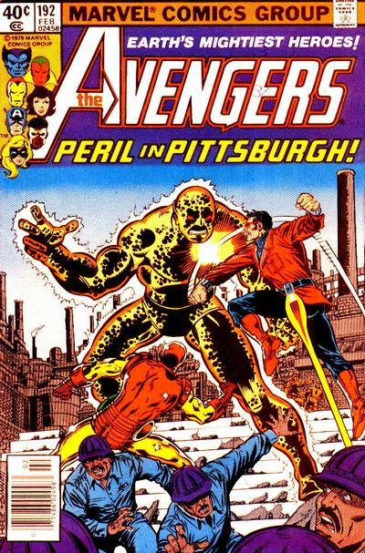 Cover for The Avengers (Marvel, 1963 series) #192 [Direct Edition]