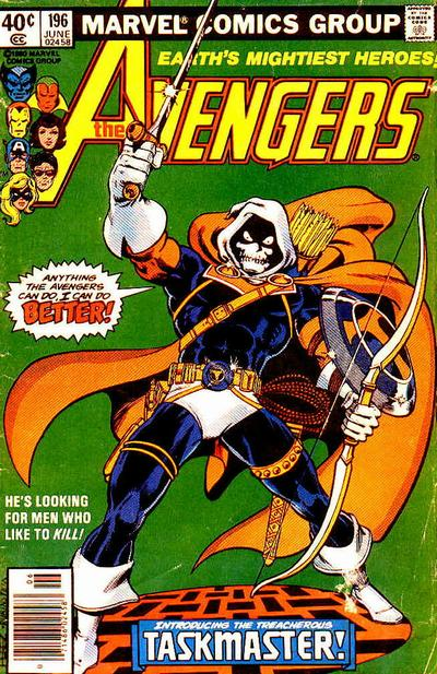 Cover for The Avengers (1963 series) #196 [direct edition]