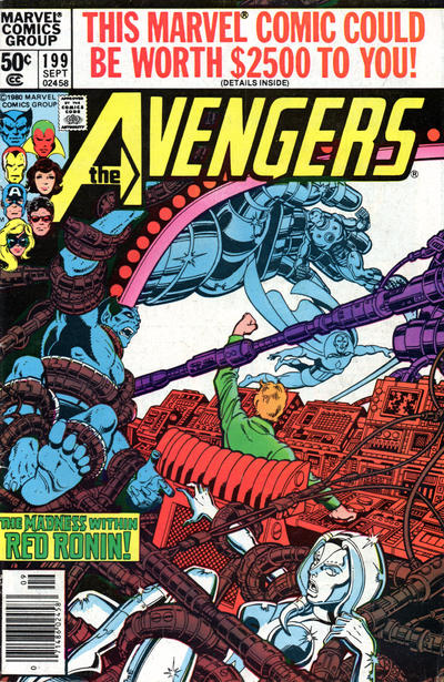 Cover for The Avengers (1963 series) #199