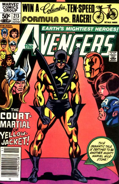 Cover for The Avengers (Marvel, 1963 series) #213 [Direct Edition]
