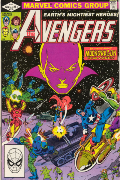 Cover for The Avengers (1963 series) #219