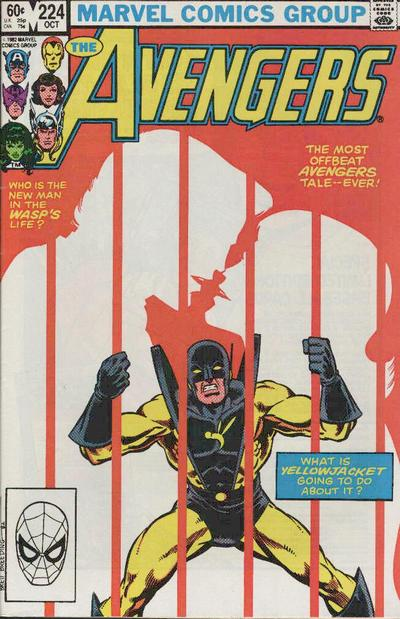Cover for The Avengers (Marvel, 1963 series) #224 [Direct Edition]
